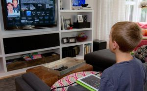 Child watching television, ads, advert, advertising, TV, marketing,