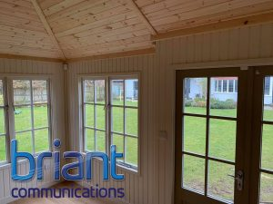 home entertainment, barn conversion, home office, work from home, wifi extenders, mesh network