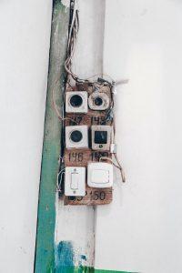 pic courtesy of Marjan Blan Instagram: @marjanblan, doorbell, broken doorbell, access control,